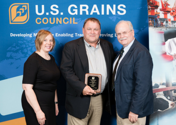USGC Recognizes Bill Long For Five Years Of Service